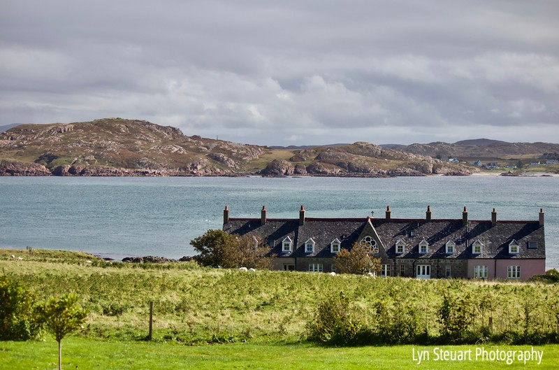 View of Finnophort Bay from the Abbey at Iona