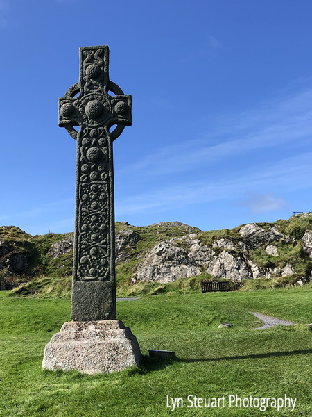 St. Martin's Cross - 15th century at the Iona Abbey