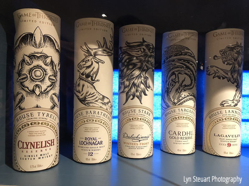 Game of Thrones edition of Scotch Whisky at Telisker Distillery, Isle of Skye