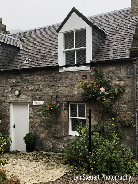 Cottage home on Balgownie Rd near the Brig O'Balgownie (bridge that dates back to Middle Ages)