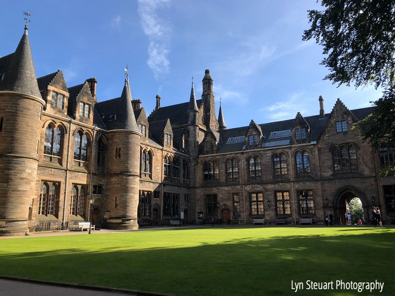 Courtyard at the Cloisters, University of Glasgow