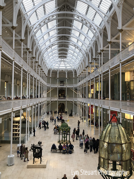 The National Museum of Scotland is both a magnificent building and a World Class Museum located in Edinburgh