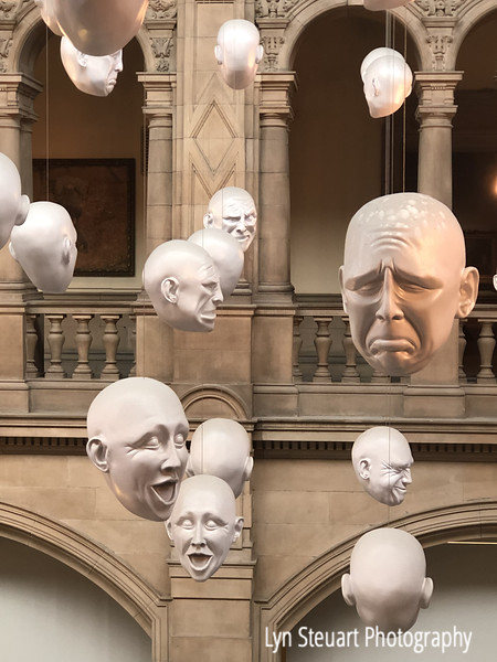 Expressions exhibit at the Kelvingrove museum
