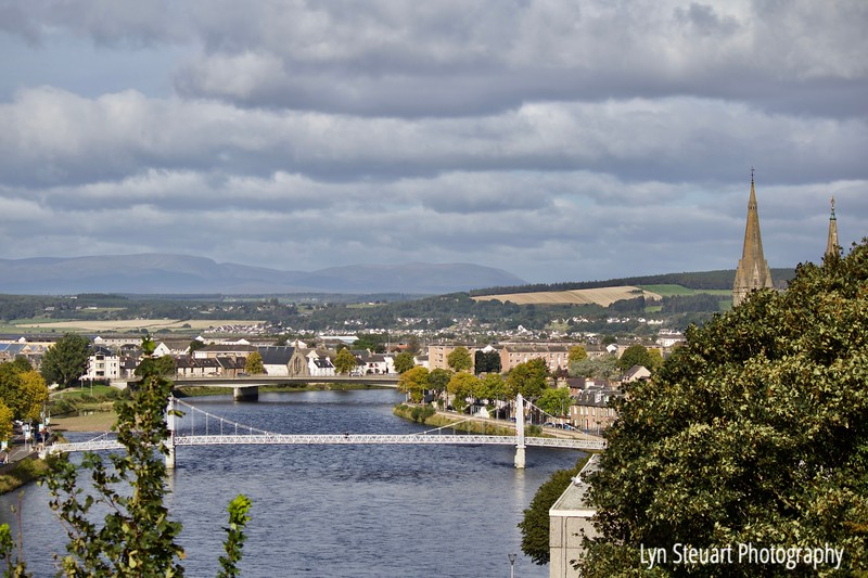 River Ness at Inverness, Scotland
