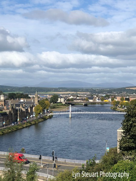View of the river Ness in Inverness