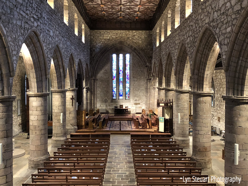 The Nave of St. Machar's Cathedral