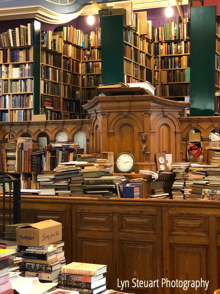 Leakey's Bookstore in Inverness.  I am sure there is some of order here but it definitely escaped me as I browsed the shelves!