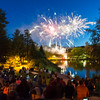 Reunion participants gather for the annual Reunion Fireworks show over Lake Andrews on Friday night, June 10 2016.