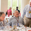The Class of 1967, the 50th Reunion Class, joins President Clayton Spencer for breakfast in Pettengill Hall's Perry Atrium.