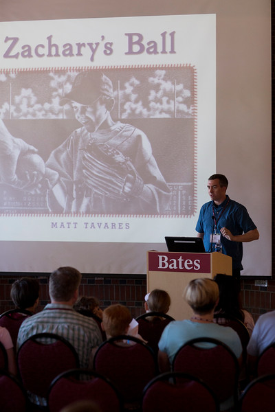 Story Time with Author-Illustrator Matt Tavares '97<br /> Join award-winning children's book author-illustrator Matt Tavares '97 for a reading of Zachary's Ball, and hear the story of how his senior thesis at Bates became his first published picture book. Matt will also give a behind-the-scenes look at his process of writing and illustrating children's books, followed by a drawing demonstration and question time.<br /> Benjamin E. Mays Center