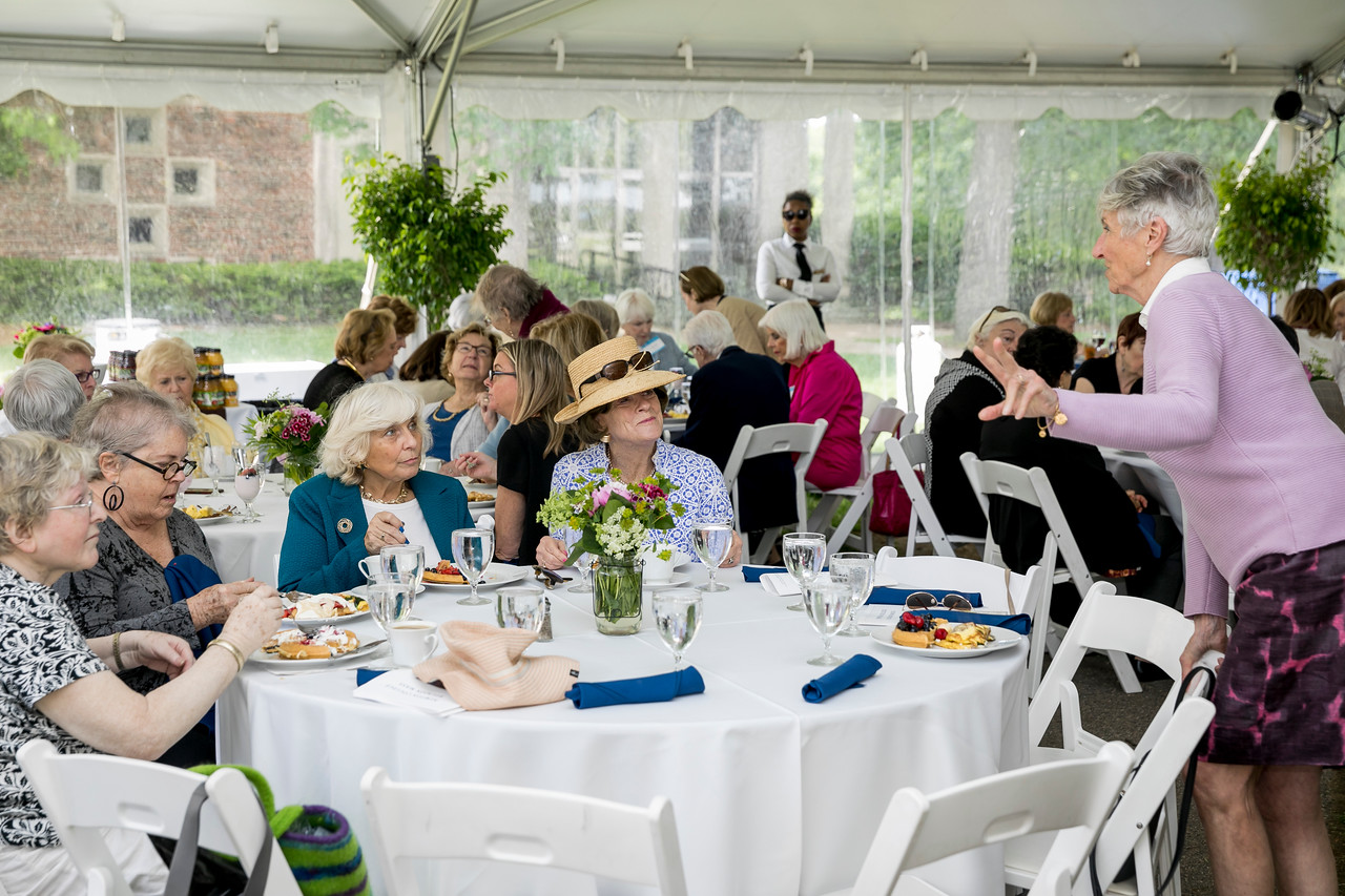 "June 4, 2017 -- Newton College's reunion garden party brunch. Photographed for Boston College by Caitlin Cunningham ( <a href=""http://www.caitlincunningham.com"">http://www.caitlincunningham.com</a>)."