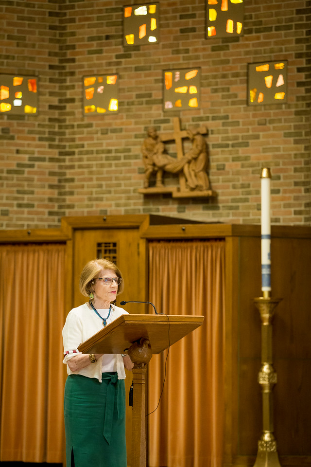 "June 4, 2017 -- Newton College reunion mass in Trinity Chapel. Photographed for Boston College by Caitlin Cunningham ( <a href=""http://www.caitlincunningham.com"">http://www.caitlincunningham.com</a>)."