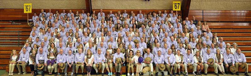 Class of 1967 – 50th Reunion Portrait  June 10, 2017