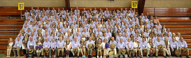 Class of 1967 – 50th Reunion Portrait  June 10, 2017