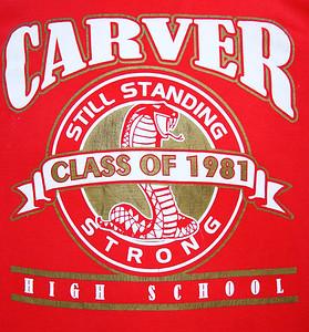 Carver Cobra's Class of  '81