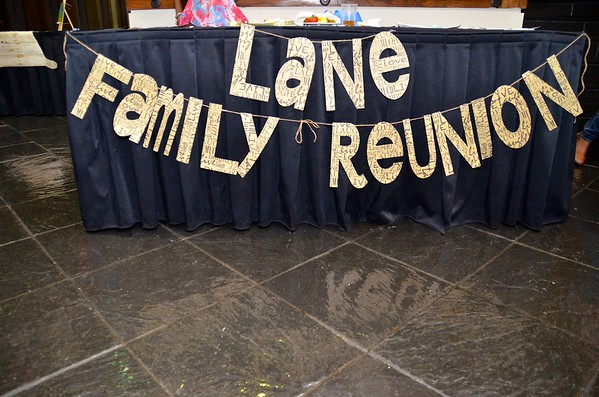 Lane Family Reunion 2014
