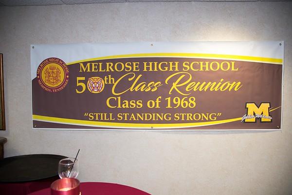 """Melrose Class of 1968 """"50th Reunion, Still Standing Strong"""""""