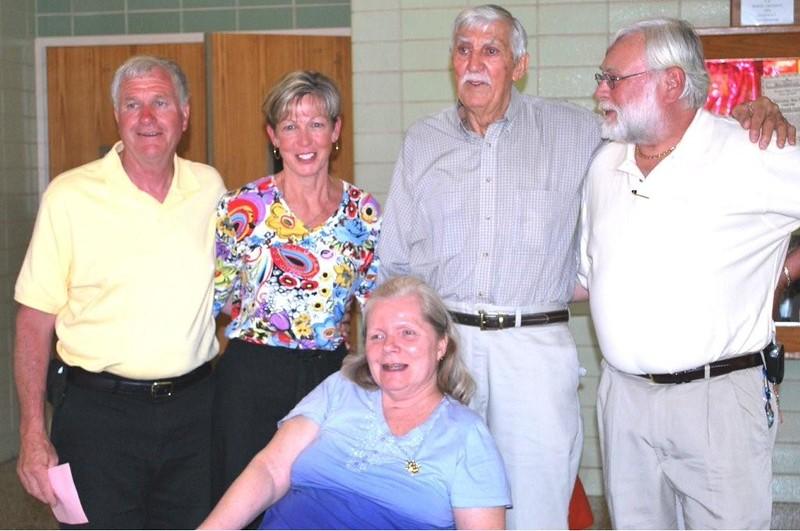 Ben, sister, dad, Paul & wife