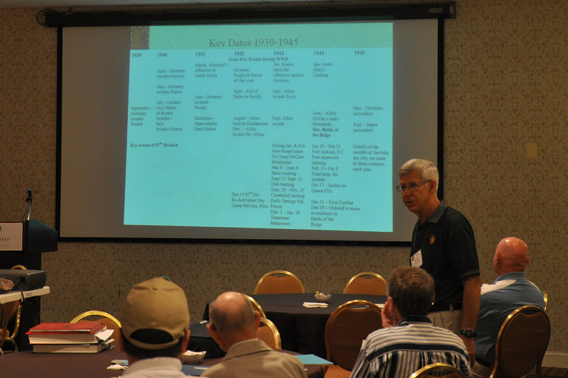 A division overview is presented by Jim Oaks.