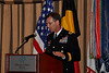 Brigadier General Jeffrey E. Phillips addresses the Association