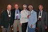 "John ""Mac"" MacAuliffe, Tom Stafford, Gayla Stafford, Mitch Kaidy, and George Watson"
