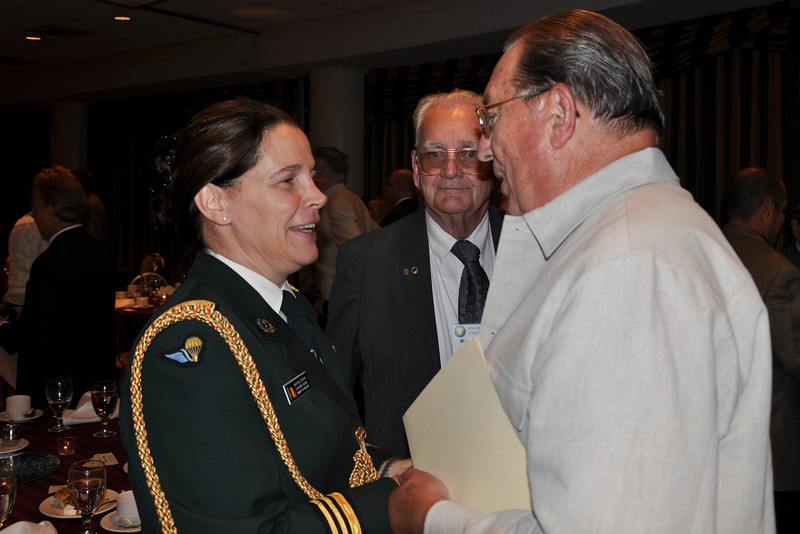 Lt. Col. Dierckx with Bob Purple (A-346)