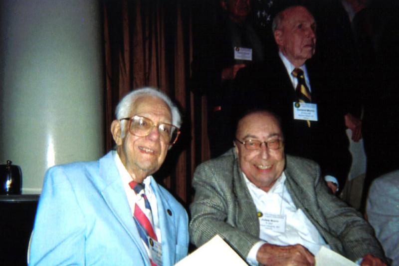 Mitchell Kaidy, D-345 & Jules Korn, F-347