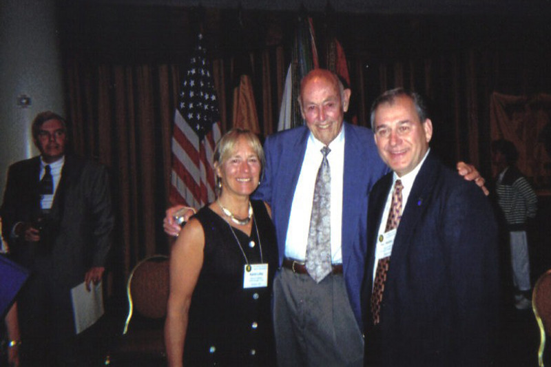 Karen Lilley, A-346 & Tom Hewlett, I-347 with Unknown