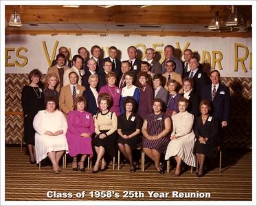 '58 - 25th Year Reunion
