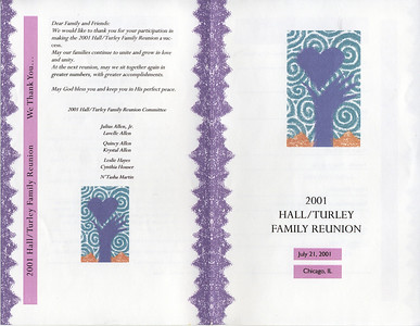 2001-7-21 Hall-Turley Family Reunion
