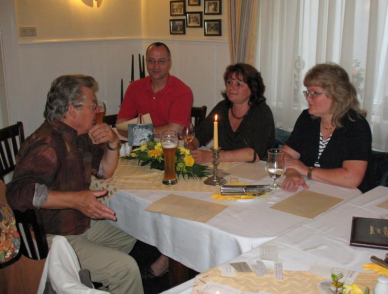 Jürgen Thieme, Michael Sturm, Simone Lubahn (Peetz) & Susanne Kurzke (Zander)
