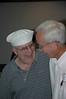 Joe Basso 60-62 sharing memories with Dan Douglas 60-62.
