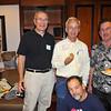 L-R Harry Leffler 61-62, Dan Douglas 60-62, Bruce Davis 62-64, Tom Planes 59-60 sitting