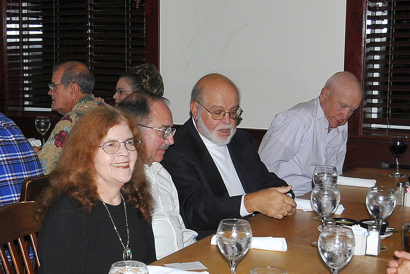 L-R Mrs Babyak, Doug Babyak 61-63, Angelo Diana 59-62, Mark Sutton 57-59