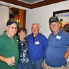 L-R Joe Basso 60-62, Barbara Ryan, Thomas Ryan 60-62, C. O. Lee 60-62