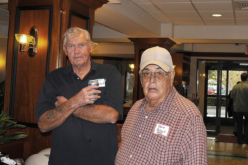 L-R Edward Wierback 55-58, Dave Poland 57-59