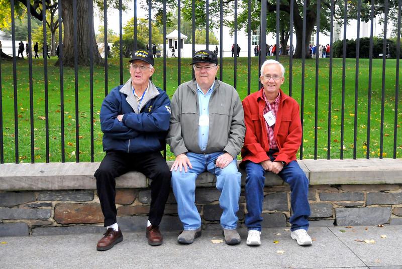 Dick Stader, Cliff Hoke, & Dan Douglas