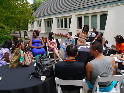 Alumni of Color Reception