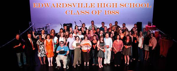 4x10 Edwardsville 25 Year HS Reunion Group