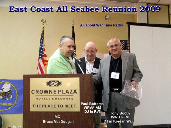 All East Coast Seabee Reunion - 2009 - Guest Speakers