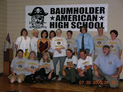 BAHS Reunion - Seattle - July 2005