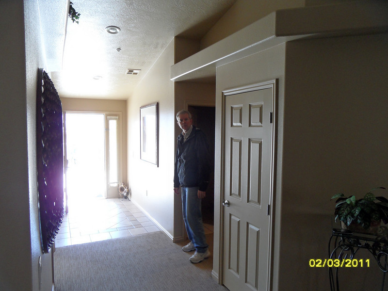 Rick from side-hall to bedroom #3 of 3.