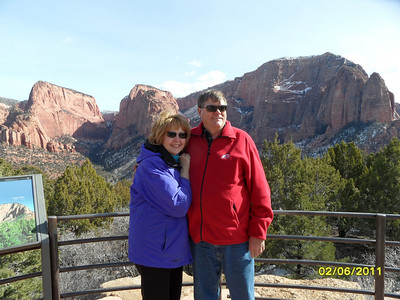 Baird Reunion St.George Feb2011 (photos 5 of 5: Kolob Canyon)
