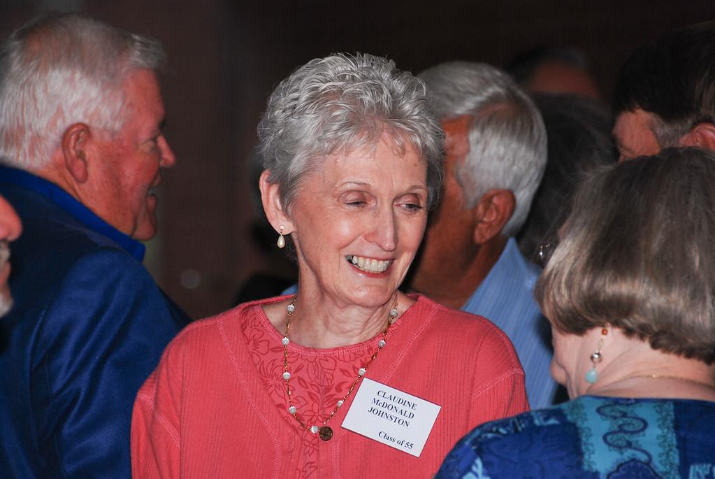 Claudine McDonald Johnston, Class of 55