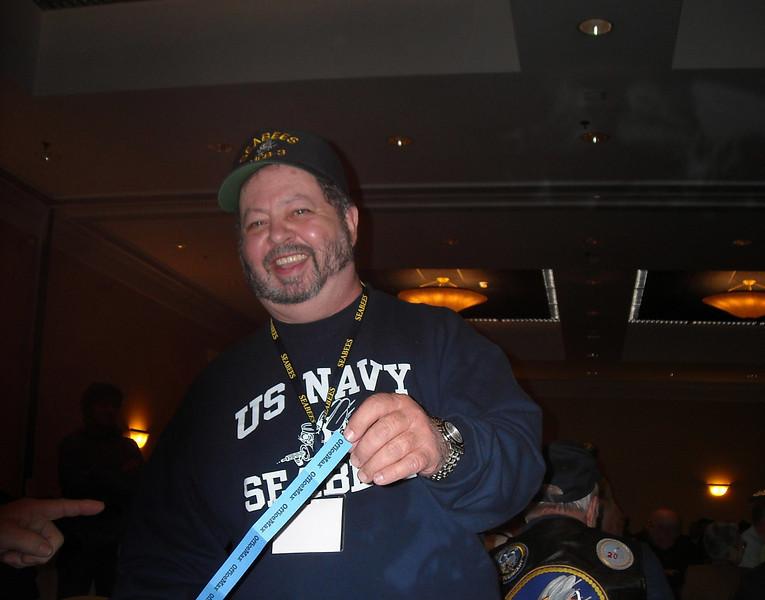 Raffle Winner Geno Giunta.
