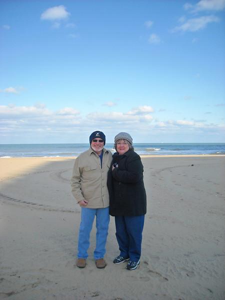 Rev (EAD2) And Sher At The Beach In Virignia Beach.