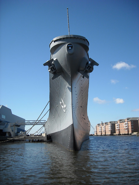 A Visit To The USS Wisconsin In Norfolk.