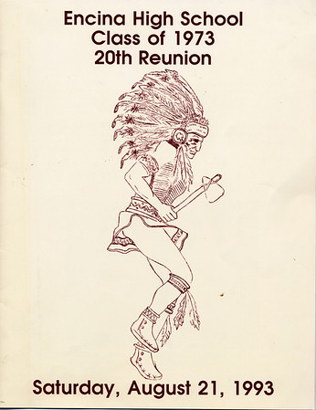 Encina Class of 1973: 20 year reunion photobook