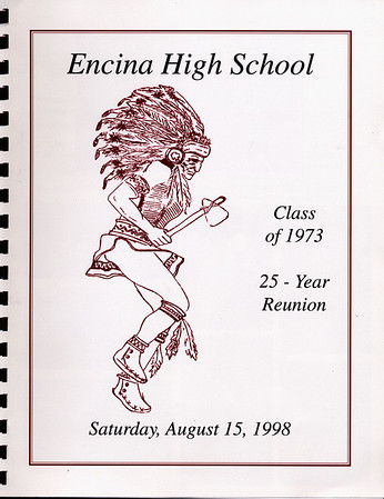 Encina Class of 1973: 25 year reunion memory book
