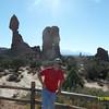 Dave at Balancing Rock.